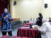 Workshop of Dr. Samia Al Farrah for CIS
