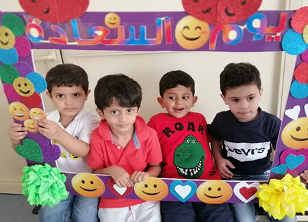 First day of school  for KG1 + Open House