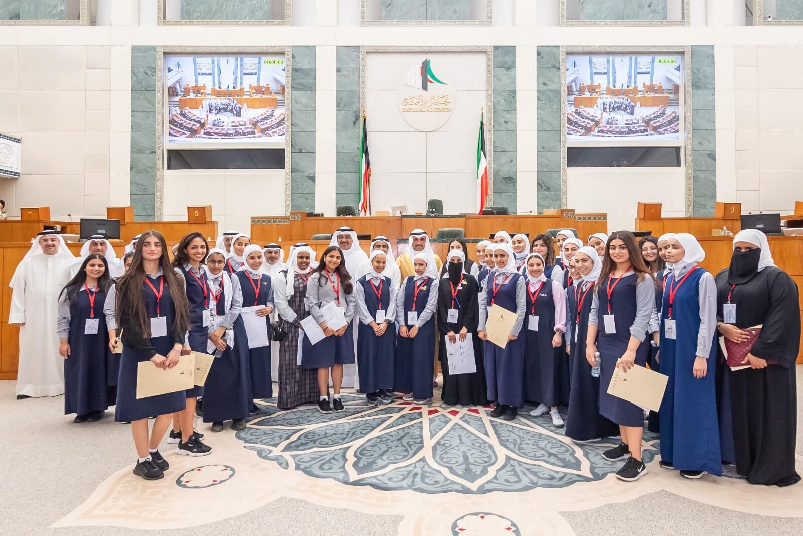 Al Resala Students participation in the  6th Student Parliament