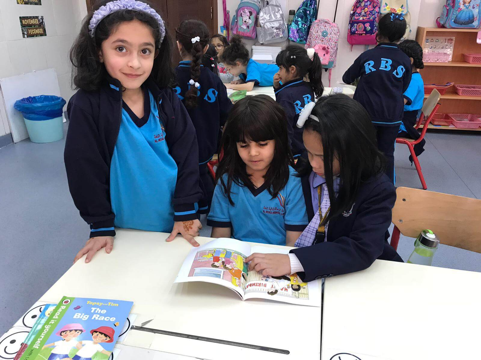 Philipino School Visit - Reading Activities